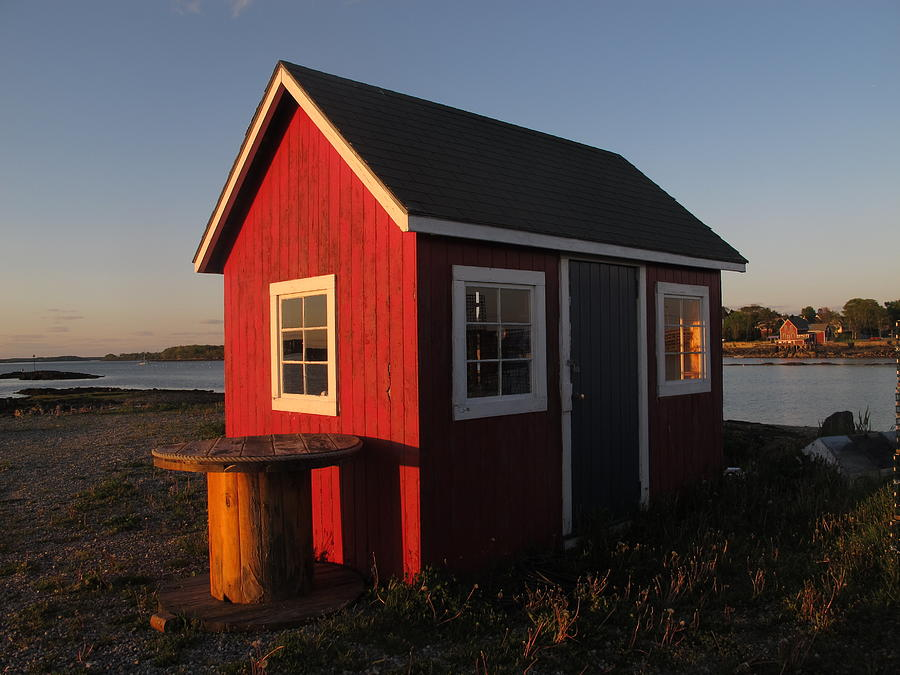 Little Red Shack 2 Photograph
