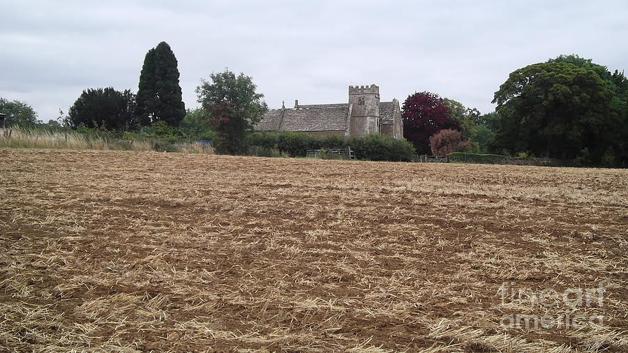 Cotswolds Photograph - Little Rissington Church 2 by John Williams