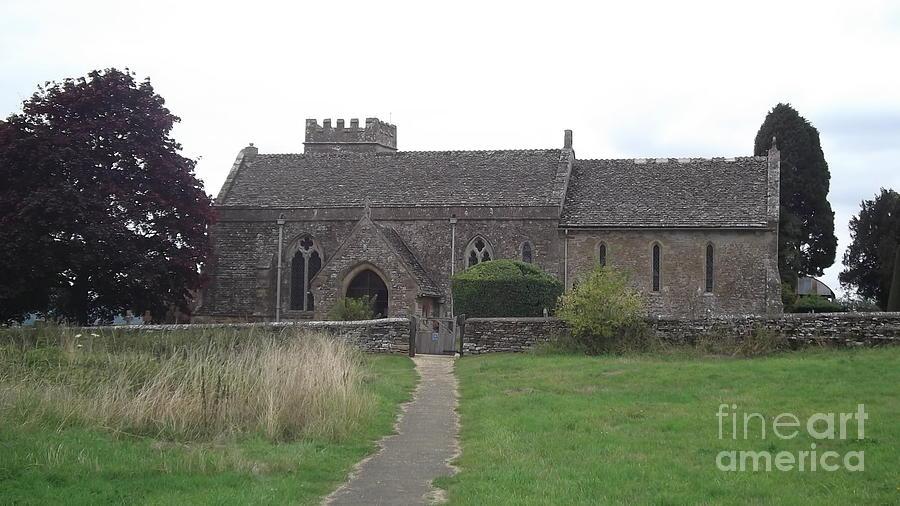 Little Rissington Church Photograph - Little Rissington Church by John Williams