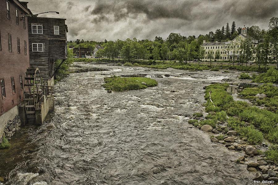 Landscape Photograph - Littleton Mill by Fran Gallogly
