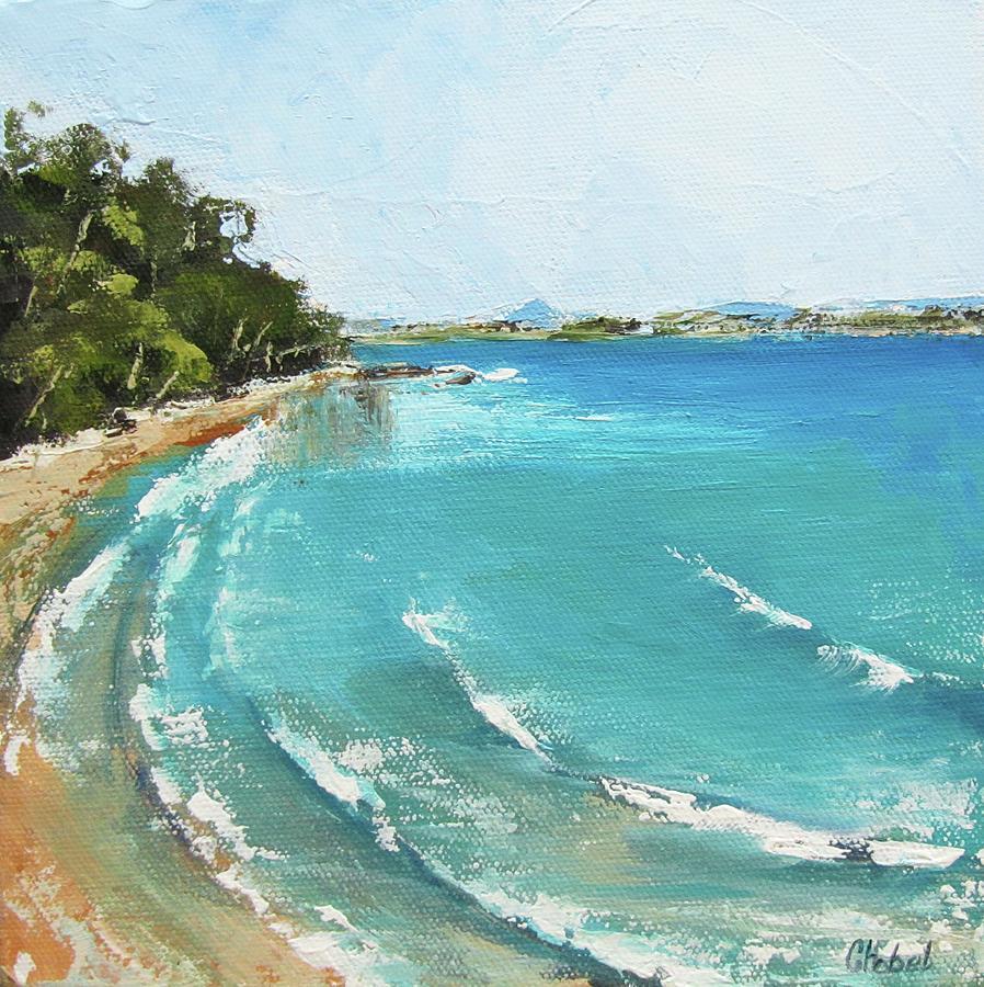 Litttle Cove Beach Noosa Heads Queensland Australia by Chris Hobel