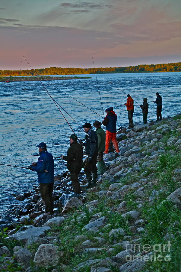 Fishing.salmon Photograph - Liturgy Of The Salmon Fishing. Doctor Andrzej Goszcz. by  Andrzej Goszcz