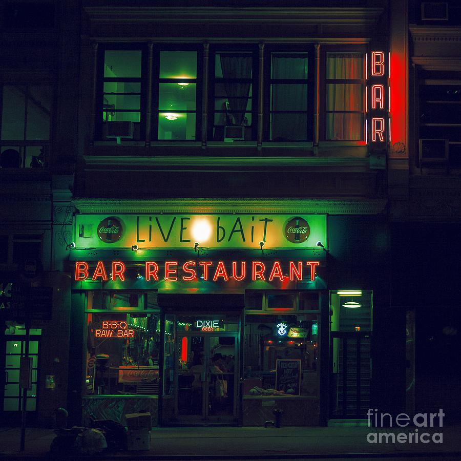 Nyc Photograph - Live Bait by Andrew Paranavitana