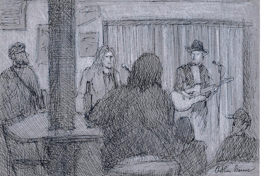Music Painting - Live Music by Arthur Barnes