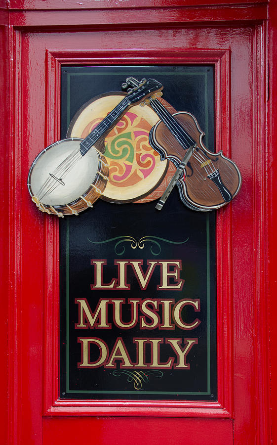Live Photograph - Live Music Daily by Bill Cannon