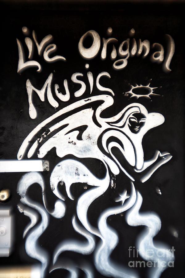 Door Photograph - Live Original Music by John Rizzuto