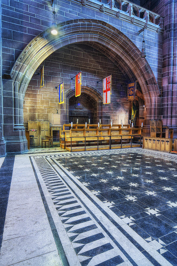 Cathedral Photograph - Liverpool Cathedral V2 by Ian Mitchell