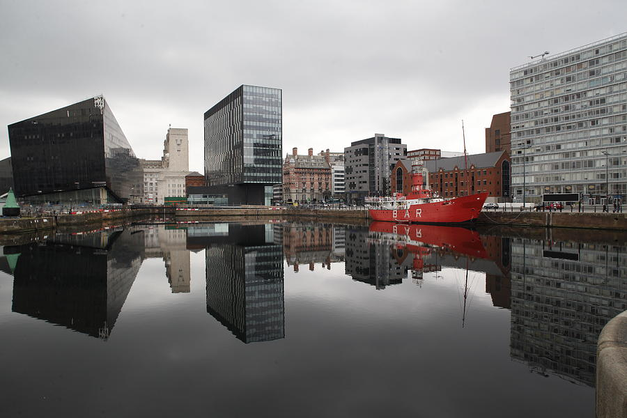 Liverpool Photograph - Liverpool Dock by Anthony Bean