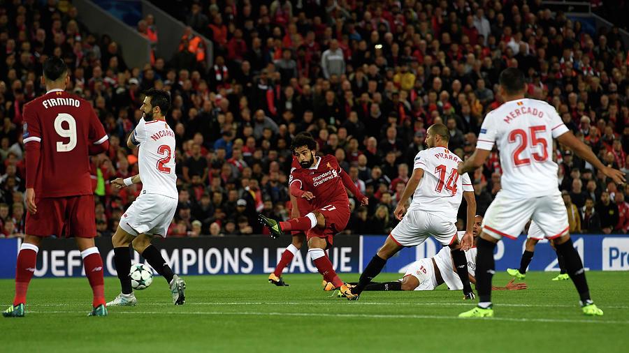 Liverpool FC V Sevilla FC - Uefa Photograph by Stu Forster