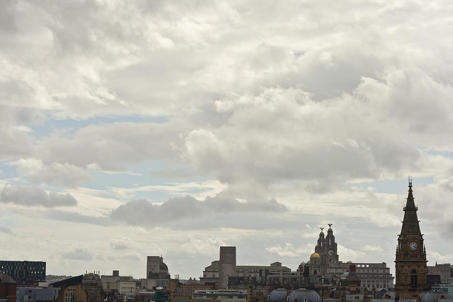 England Photograph - Liverpool Skyline by Georgia Fowler