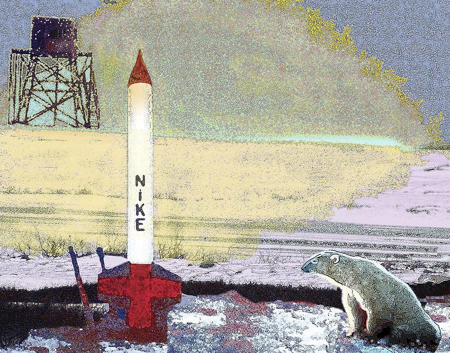 Cold War Memorabilia Digital Art - Living Among Ghosts And Relics by Alice Ramirez