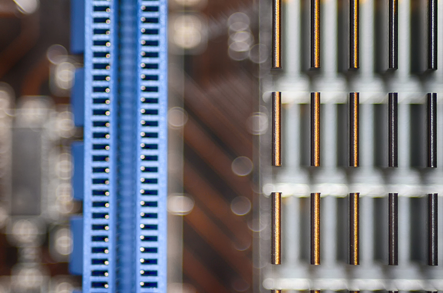 Computer Photograph - Living Digital by Angelina Vick