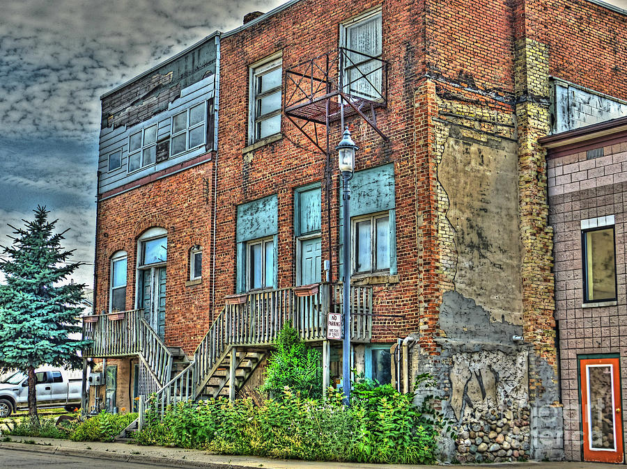 Michigan Photograph - Living Downtown Up North by MJ Olsen