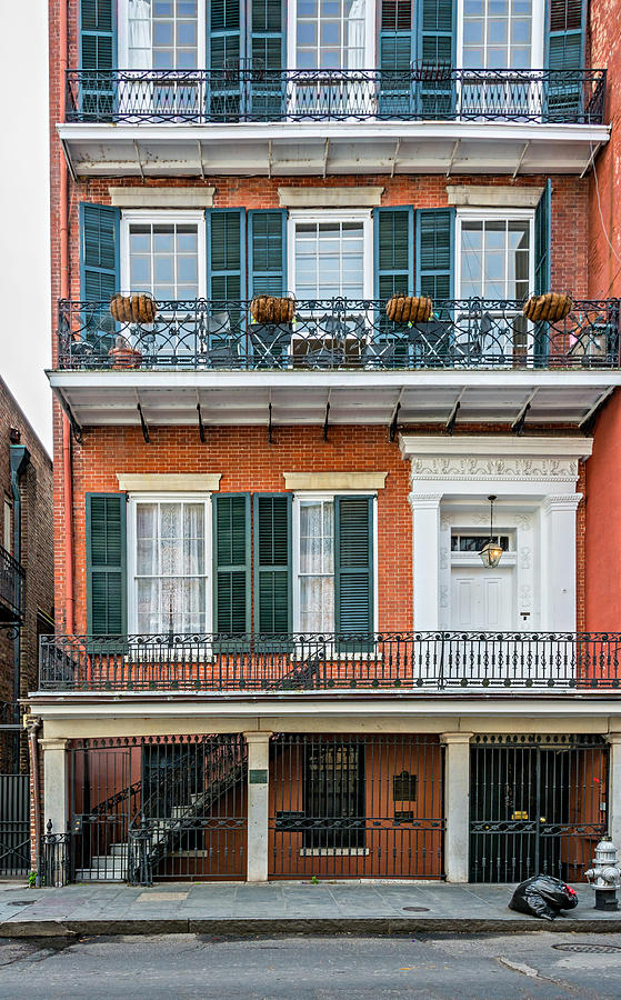 French Quarter Photograph - Living High In The French Quarter by Steve Harrington