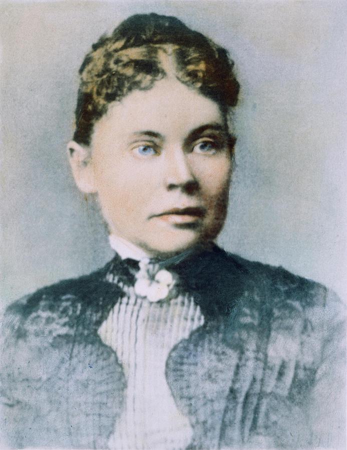 19th Century Photograph - Lizzie Andrew Borden (1860-1927) by Granger