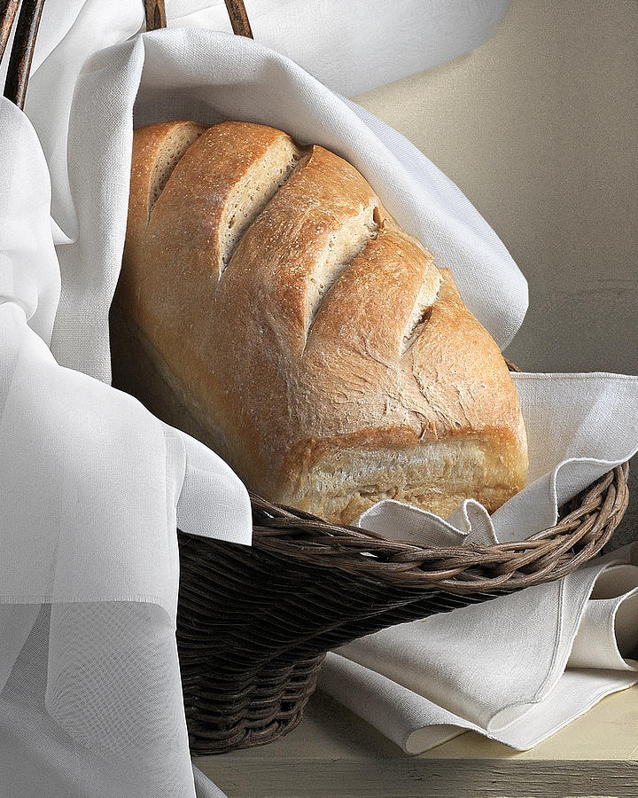Artist Photograph - Loaf Of Bread by Krasimir Tolev