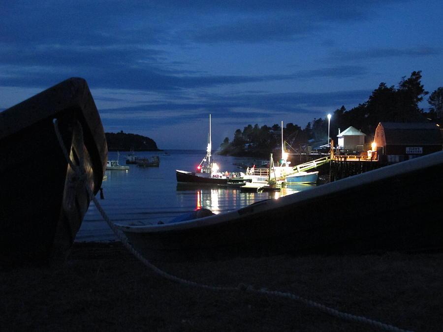 Lobster Boat Mackerel Cove Photograph