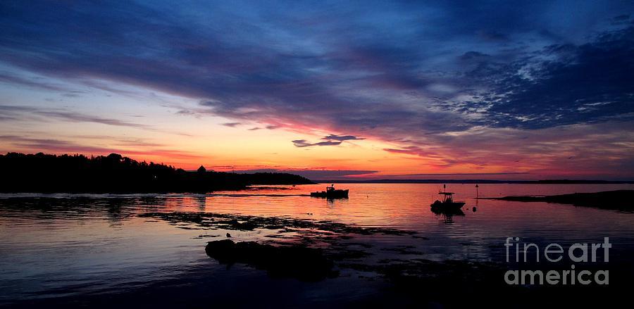 Lobster Boat Sunrise 2 Photograph