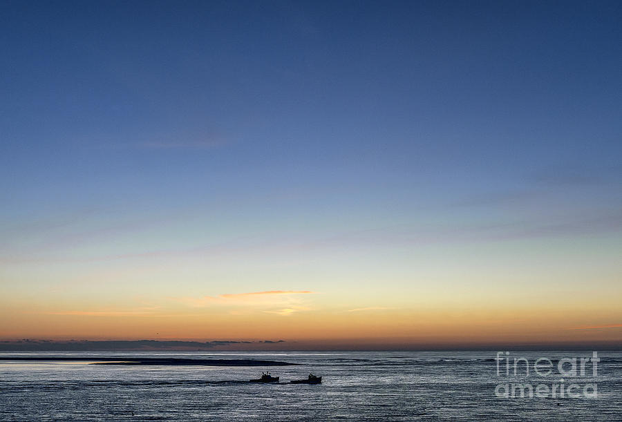 Cape Cod Photograph - Lobster Boats Going Out by John Greim