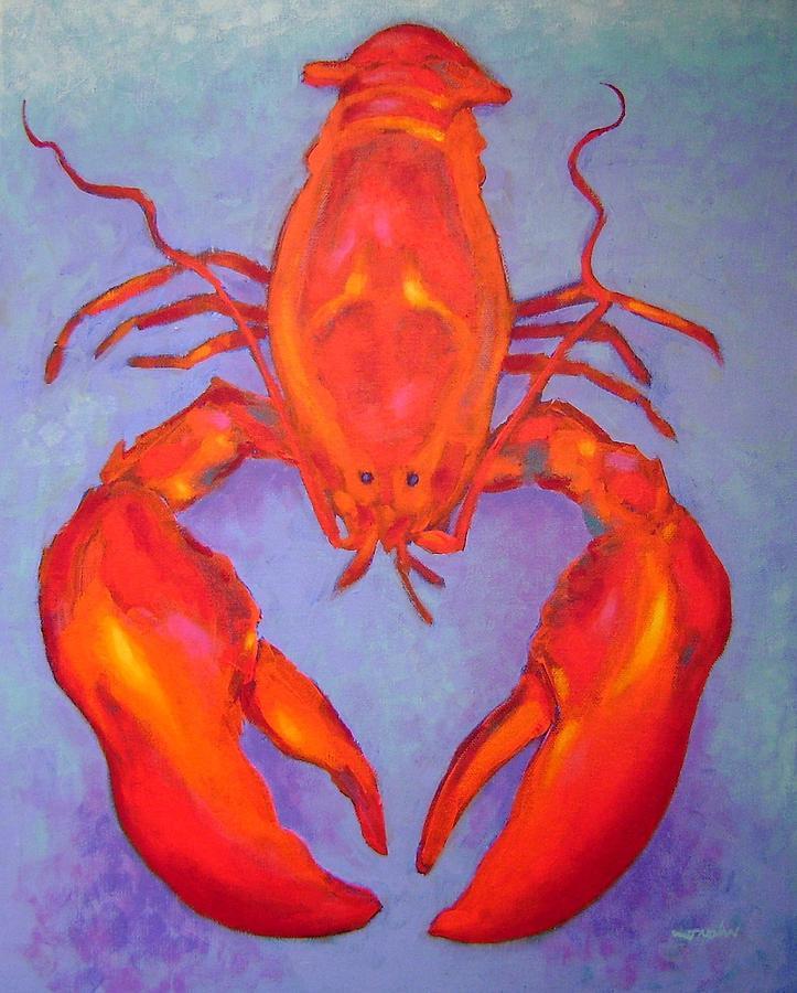 Lobster Painting by John Nolan