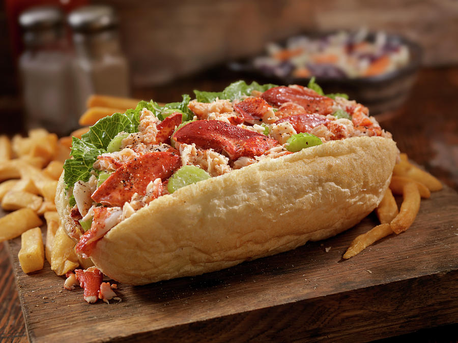 Lobster Roll Photograph by Lauripatterson