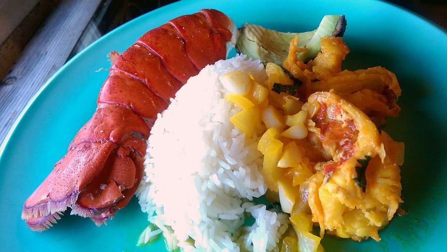 Lobster Photograph - Lobster Tales  by Denisse Del Mar Guevara