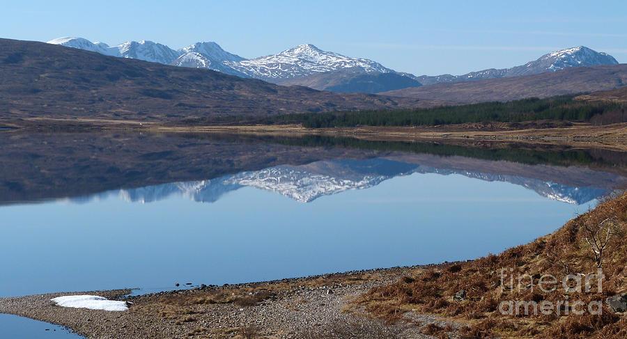 Achnasheen Photograph - Loch A Croisg - Scotland by Phil Banks