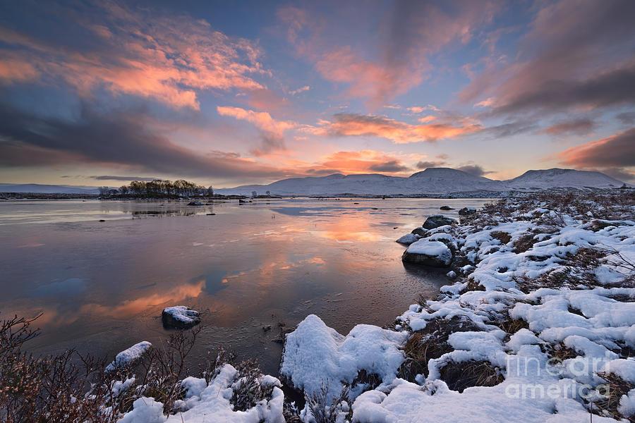 Rannoch Moor Photograph - Loch Ba by Rod McLean