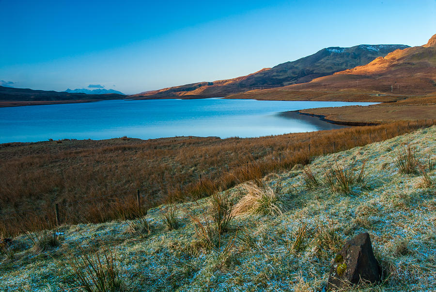 Isle Of Skye Photograph - Loch Leathan Isle of Skye by David Ross