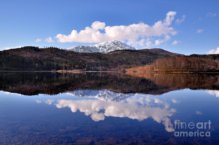 Nature Photograph - Loch Lomond by Aditya Misra