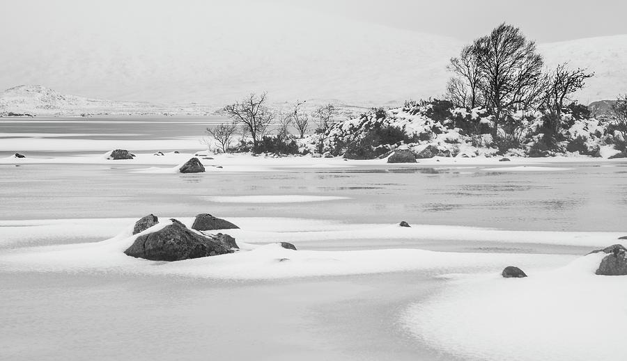 Lochan Na H-achlaise, Rannoch Moor Photograph by John Lawson, Belhaven