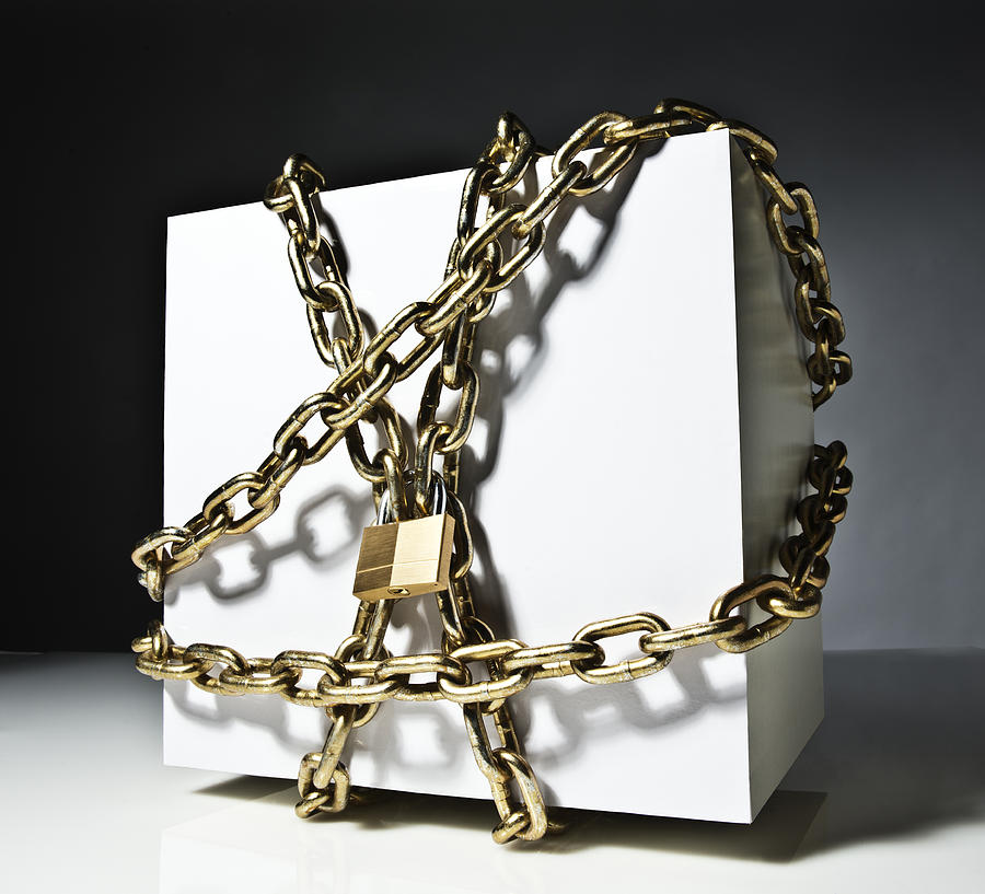 Locked Box Photograph by PM Images