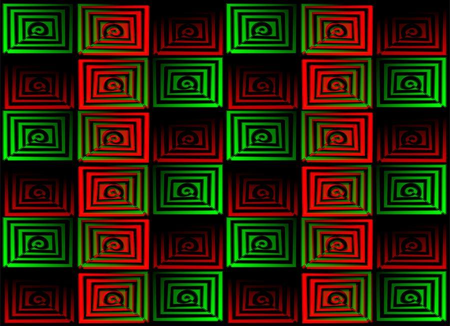 Abstract Digital Art - Locked Up by Anastasiya Malakhova