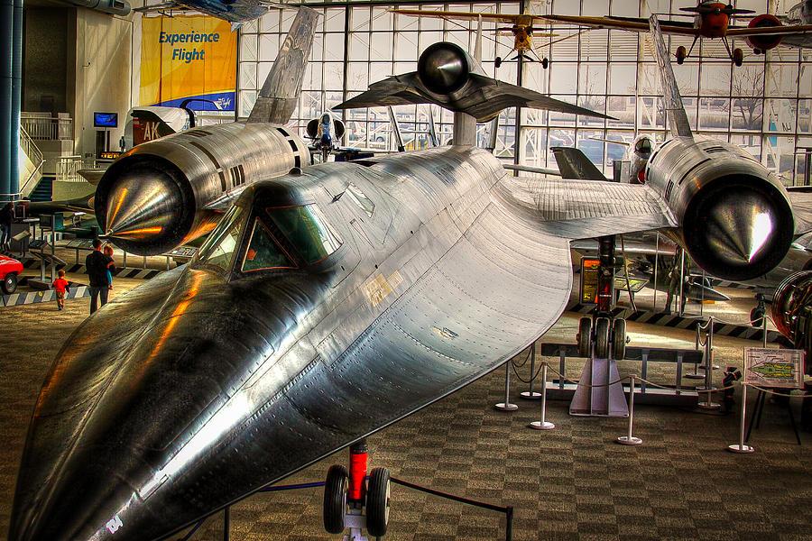 Museum Of Flight Photograph - Lockheed M-21 Blackbird by David Patterson