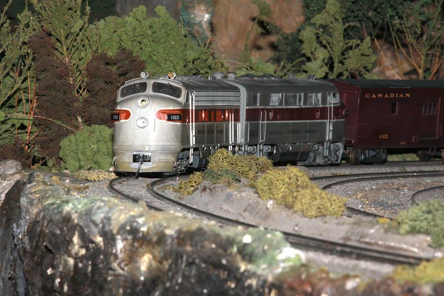 Diesel Photograph - Locomotive 1103 by Hugh McClean