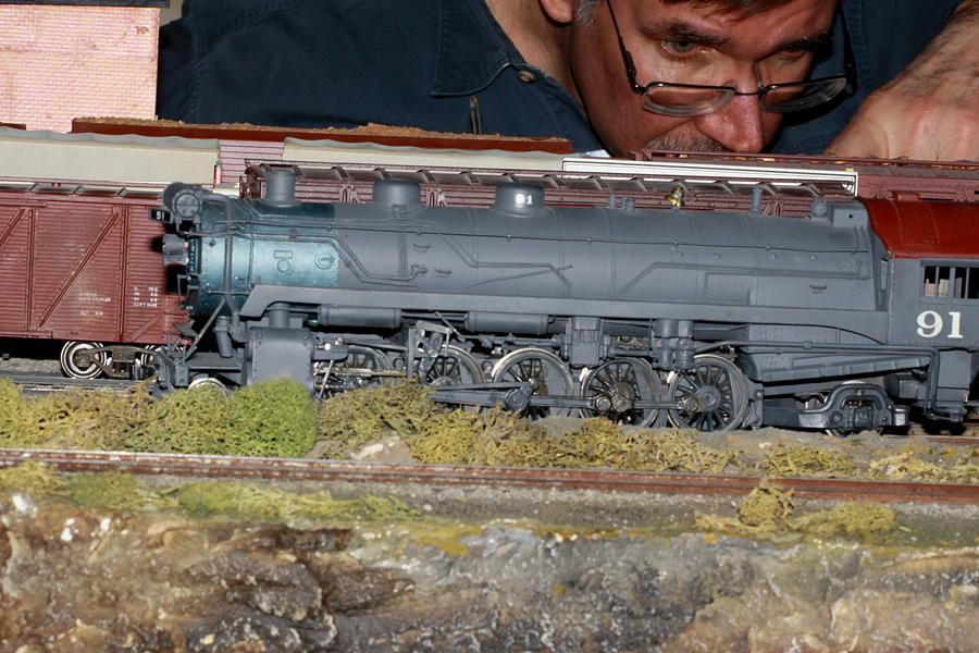 Steam Photograph - Locomotive 91 by Hugh McClean