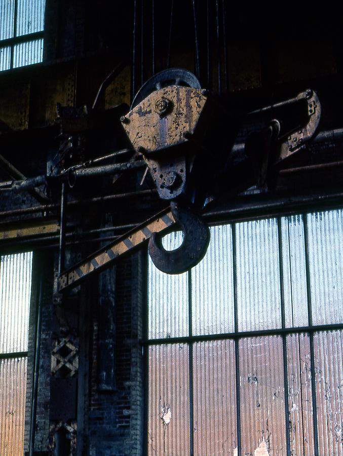 Hooks Photograph - Locomotive Hook by Richard Rizzo