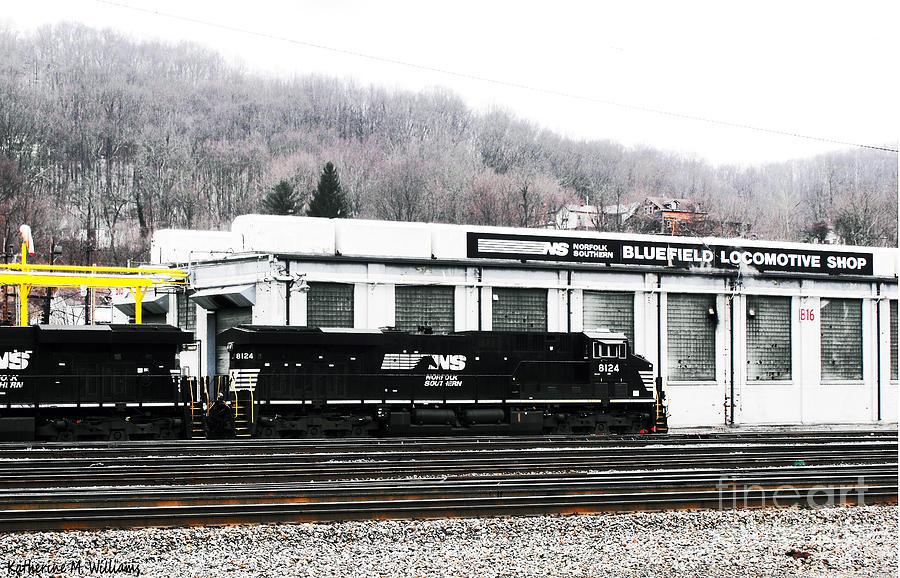Bluefield Photograph - Locomotive by Katherine Williams