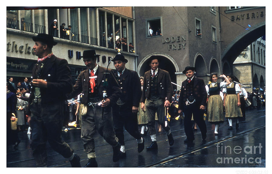 Photo Photograph - Loden Frey Parade by Theo Bethel