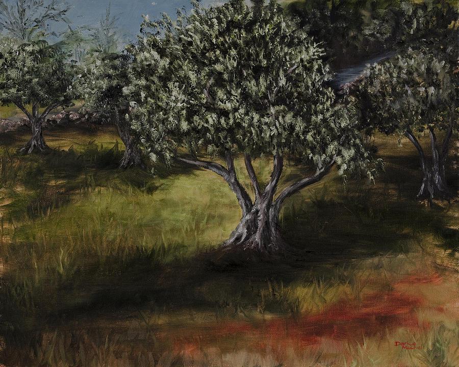 Landscape Painting - Lodestar Farm by Darice Machel McGuire