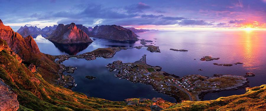 Lofoten Photograph - Lofoten Sunrise by Sorin Tanase