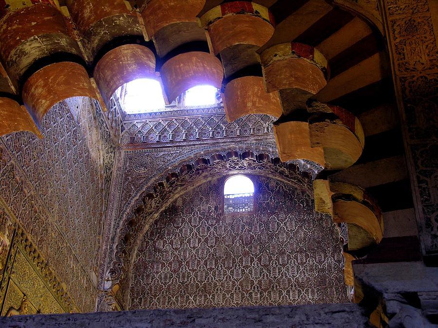 Cordoba Spain Photograph - Lofty Arches - Mezquita by Jacqueline M Lewis