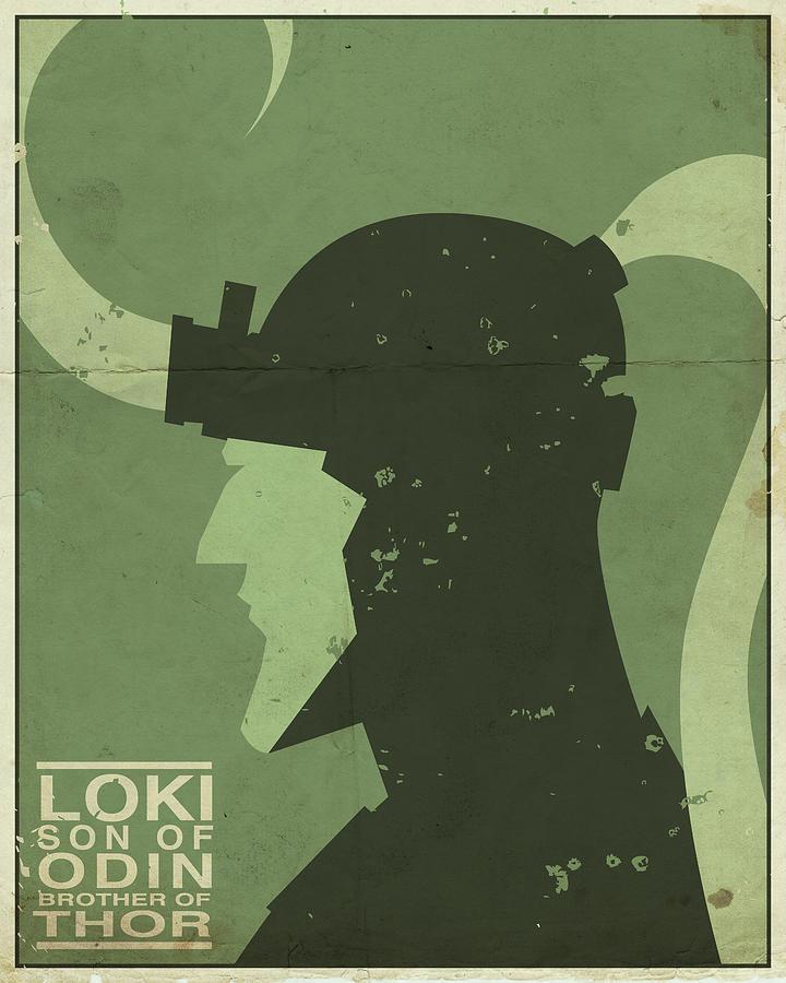 Loki Digital Art - Loki - Son Of Odin by Michael Myers