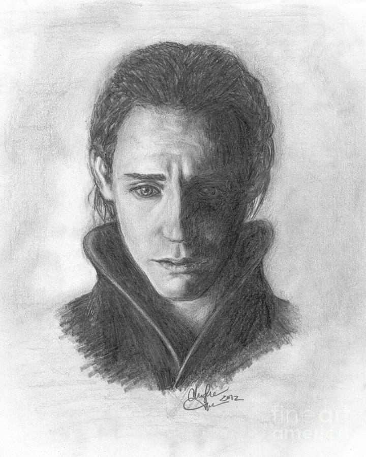 Loki Drawing - Loki by Christine Jepsen