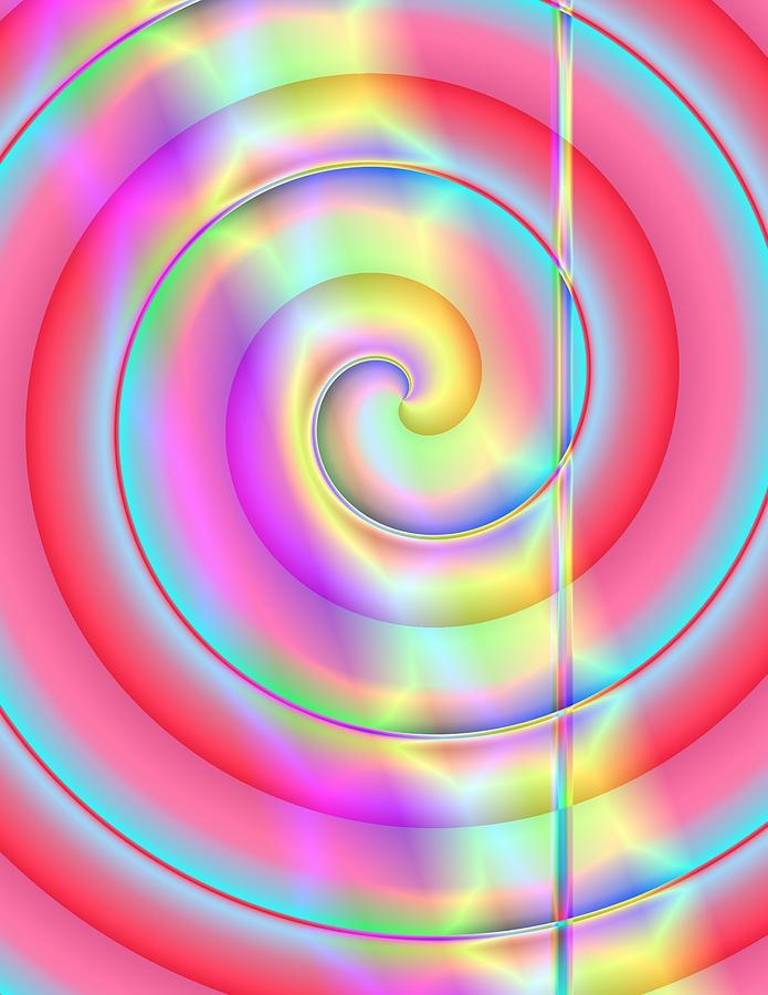 Lolly Pop Digital Art - Lolly Pop by Krazee Kustom