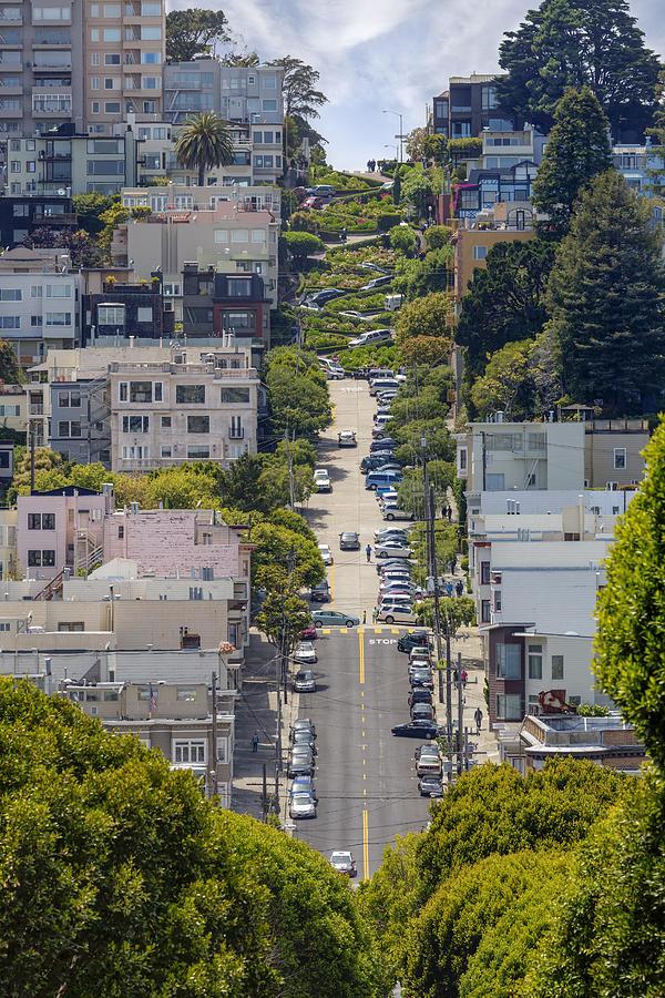 Lombard Street Photograph