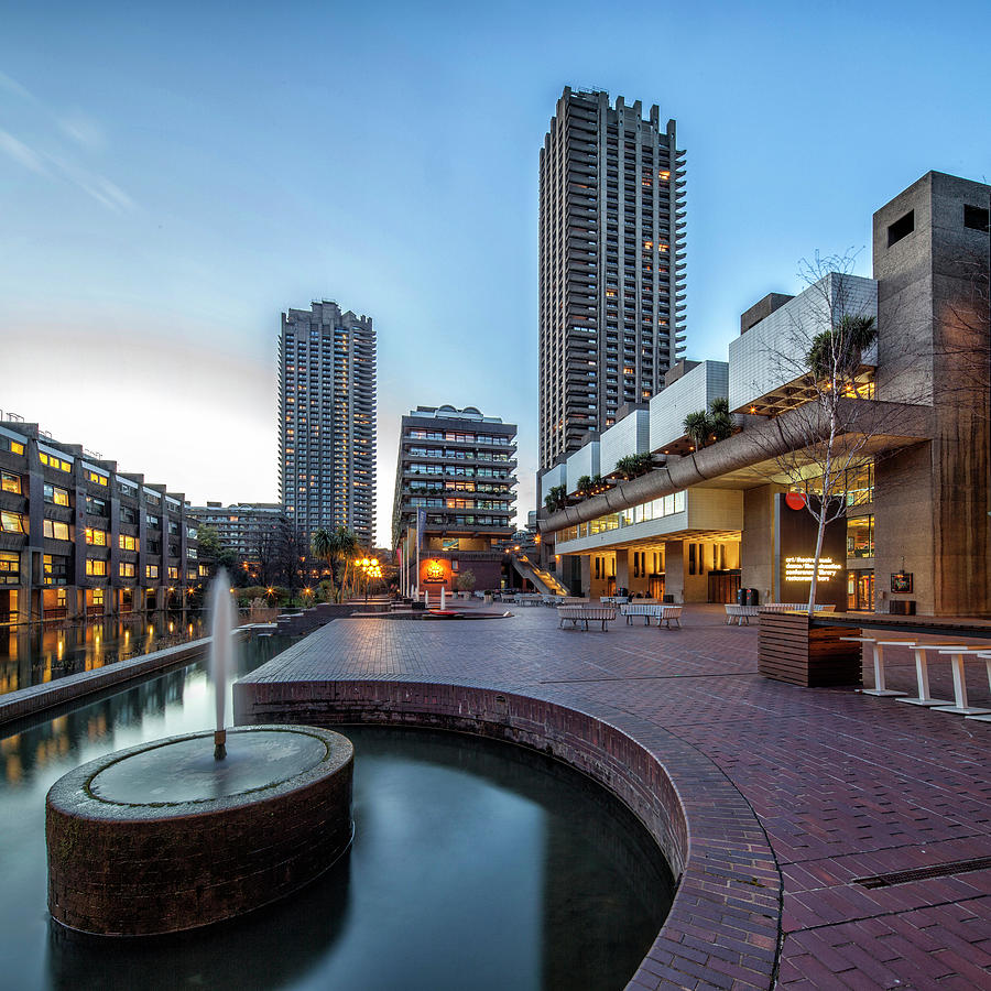 London Barbican Photograph by David Bank