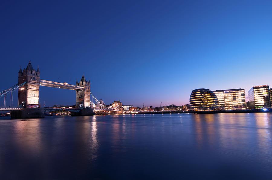 London Bridge And Skyline Photograph by Imagegap