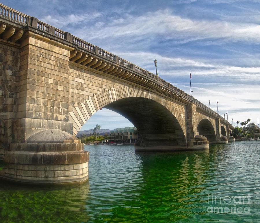 London Bridge Photograph - London Bridge by Gregory Dyer