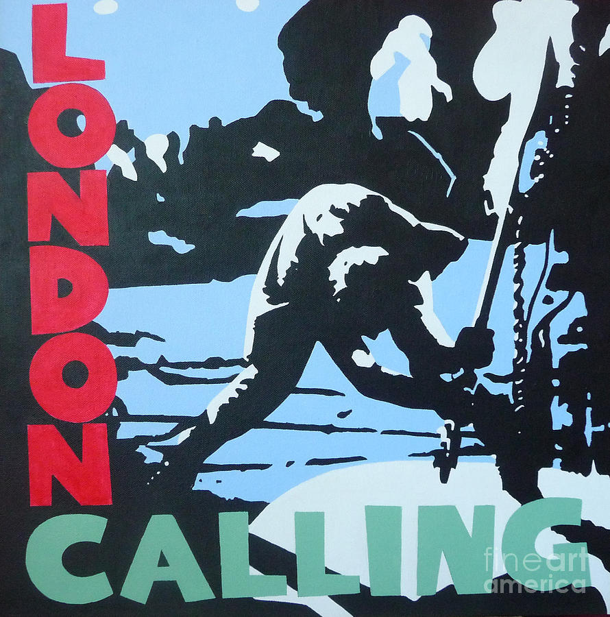 Clash Painting - London Calling by ID Goodall